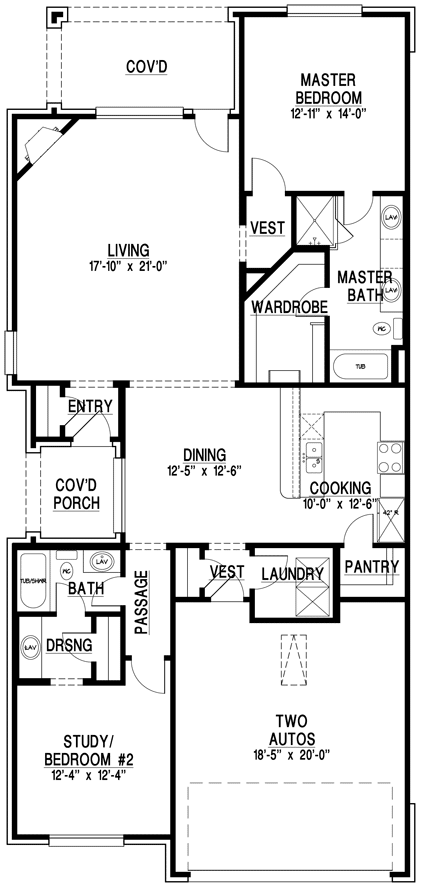 Benevento Luxury Home Floor Plan