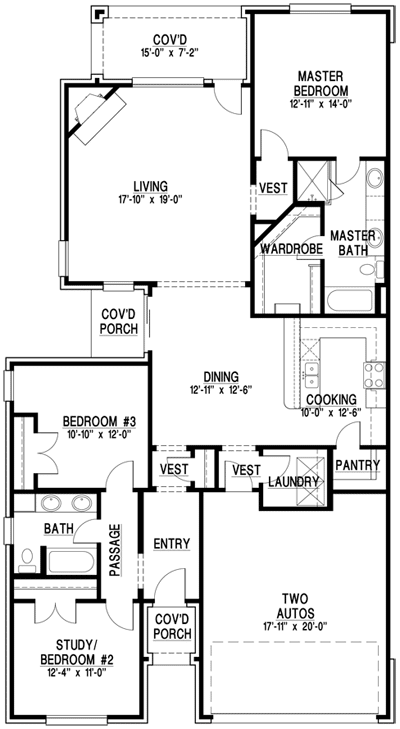 Imperia I Luxury Home Floor Plan