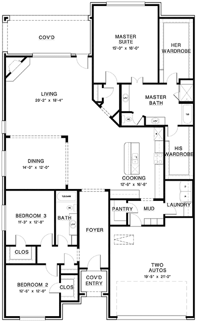 Imperia III Luxury Home Floor Plan