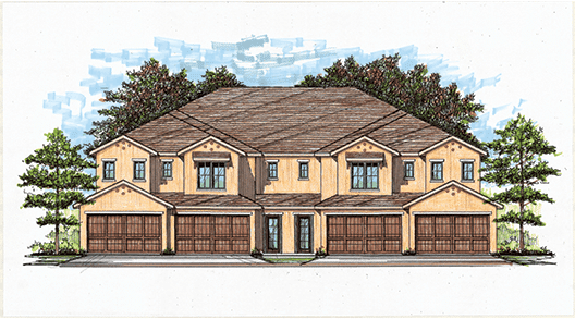 Villas of Chenal New Floor plans 2018
