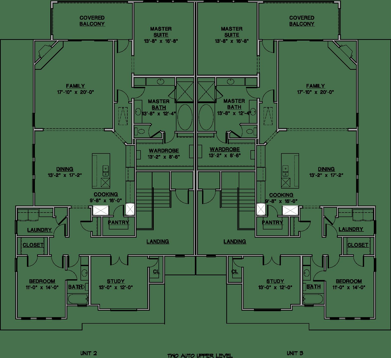 Milan 3BR Floor Plan