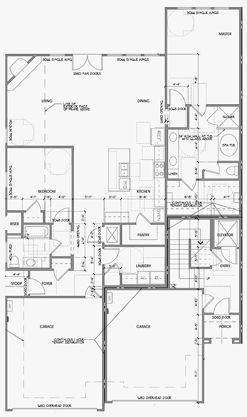 Naples 2 Car Floor Plan